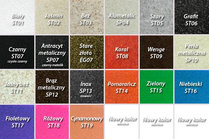 Znalezione obrazy dla zapytania kolory zlewów